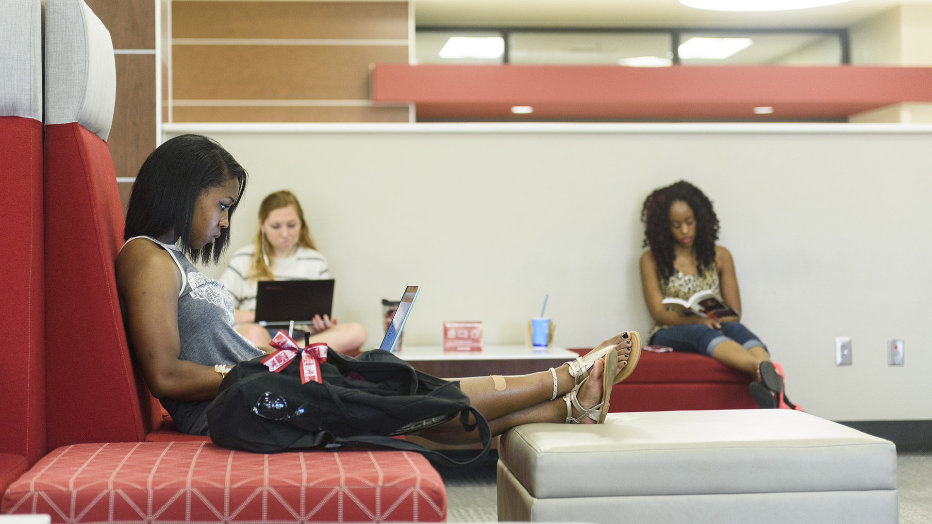 Story Image - Students in the Ferg reading